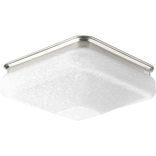 "One-Light 9-1/2"" LED Square Glass Flush Mount"