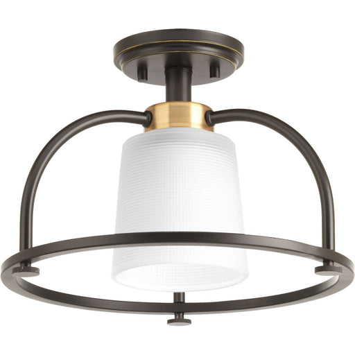 "West Village Collection 13-1/2"" One-Light Semi-Flush Convertible"
