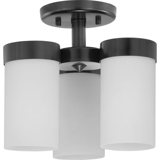 "Elevate Collection Three-Light 11-3/4"" Flush Mount"