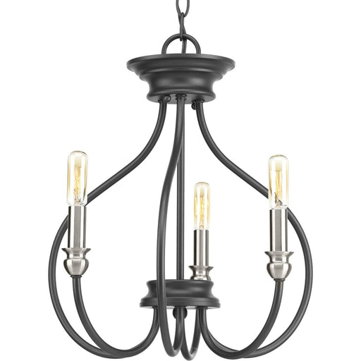 Whisp Collection Three-Light Semi-Flush Convertible