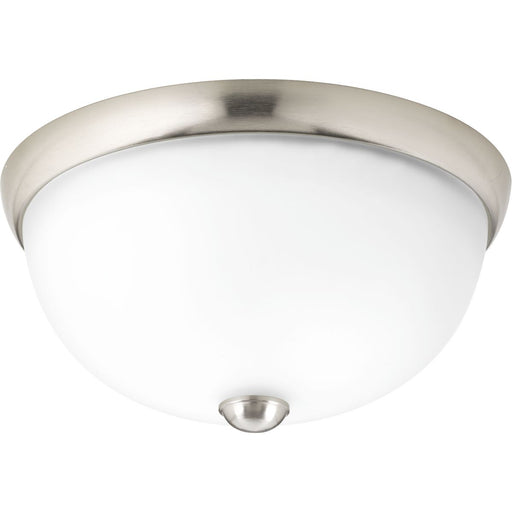 "One-Light 11"" Glass Dome Flush Mount"