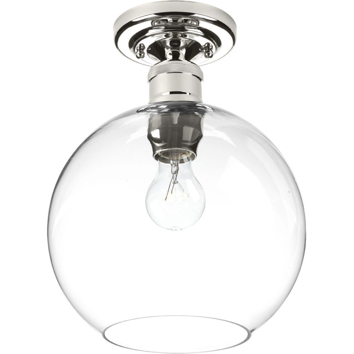 "Hansford Collection One-light 10"" Flush Mount"