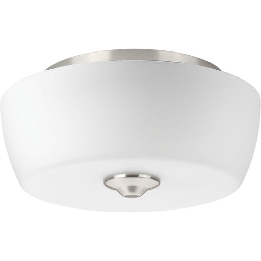 "Leap Collection Two-Light 14"" Flush Mount"