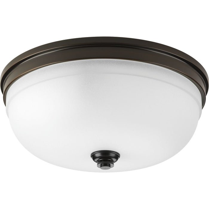 "Topsail Collection Three-light 15"" Flush Mount"