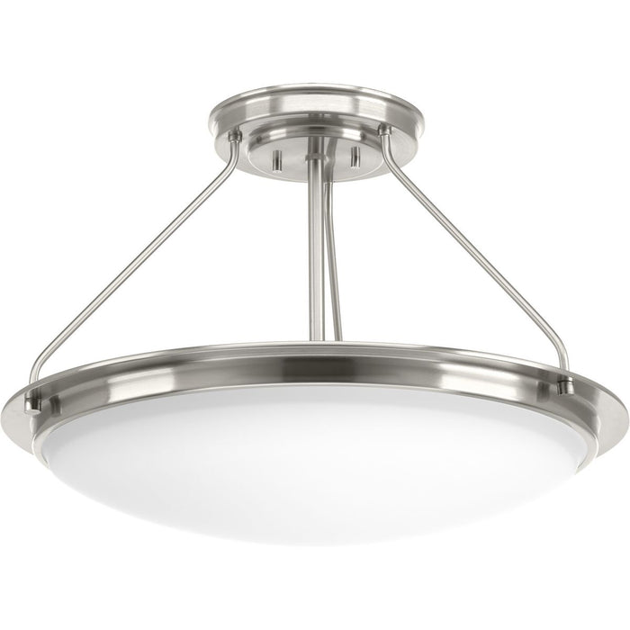 "Apogee Collection 21"" LED Semi-Flush/Convertible"