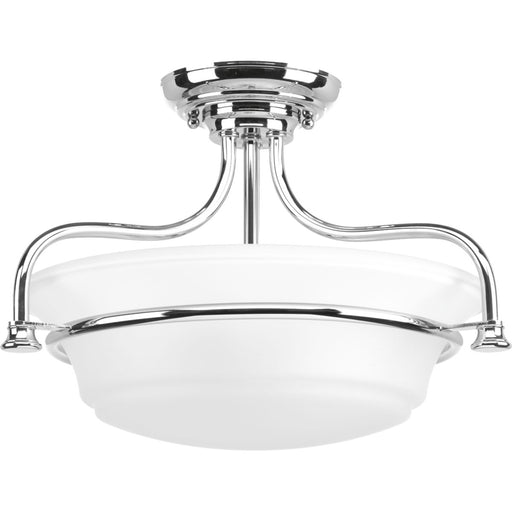"Tinsley Collection 16-1/2"" Semi-Flush Convertible"