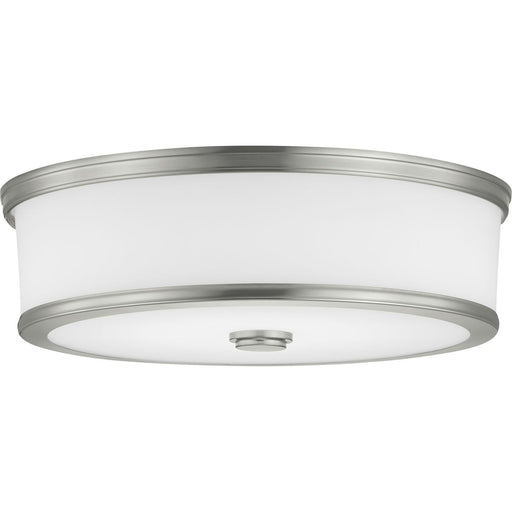 "Bezel LED Collection One-Light 16"" LED Flush Mount"