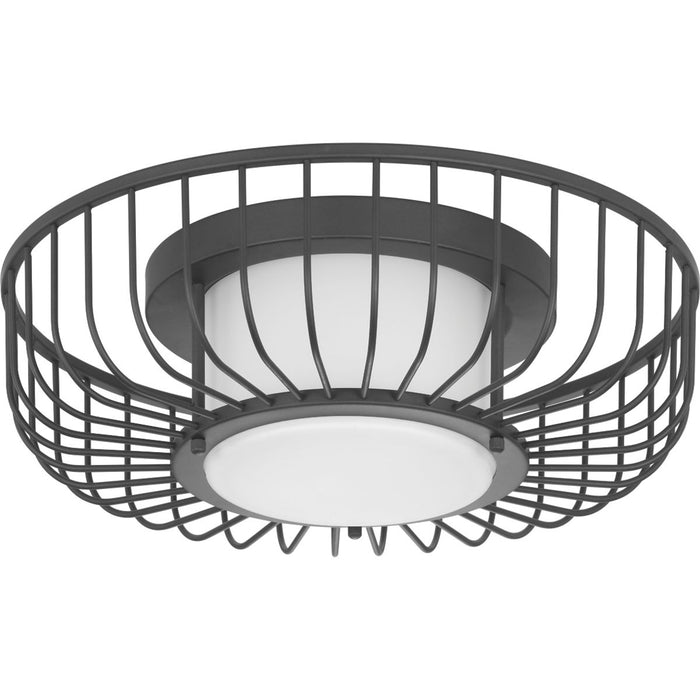 "Finesse Collection One-Light 15"" LED Flush Mount"