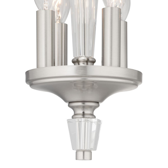 Stratham Collection Four-Light Semi-Flush Convertible
