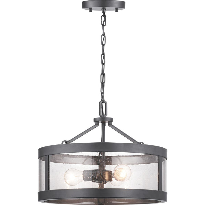 Gresham Collection Three-Light Semi-Flush Convertible