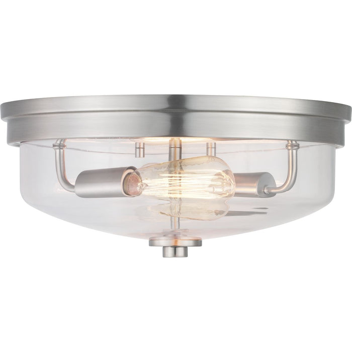 "Blakely Collection Two-Light 13-5/8"" Flush Mount"