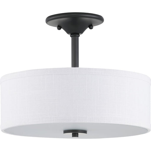 "Inspire Collection 13"" Two-Light Semi-Flush"