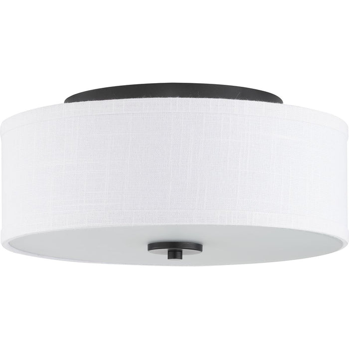 "Inspire Collection 13"" Two-Light Flush Mount"