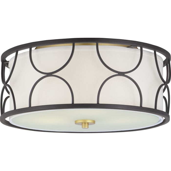 "Landree Collection 16"" Three-light Flush Mount"