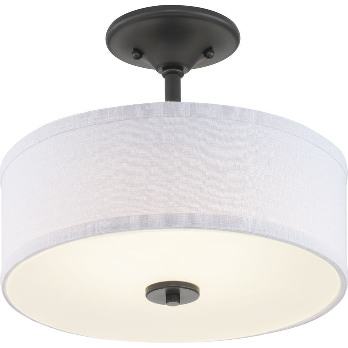 "Inspire LED Collection 13"" LED Semi-Flush"