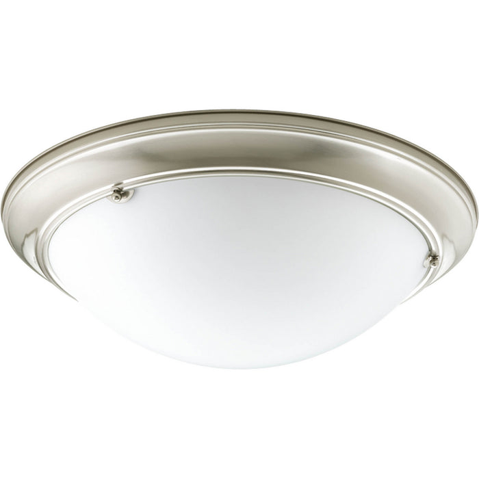 "Eclipse Collection Three-Light 19-3/8"" Close-to-Ceiling"