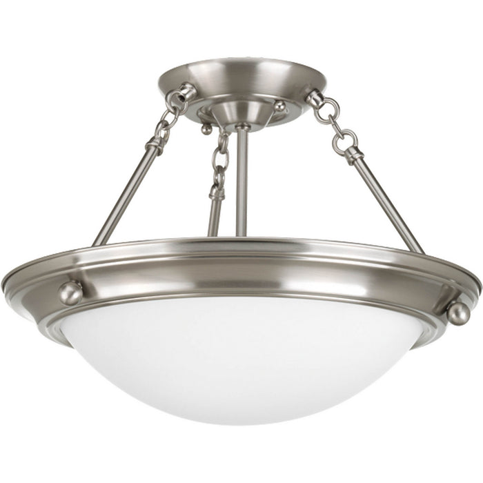 "Eclipse Collection Two-Light 15-1/4"" Close-to-Ceiling"