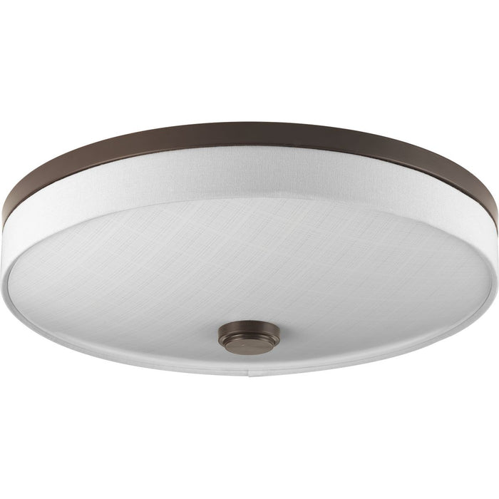 "Weaver LED Collection Two-Light LED 16"" Flush Mount"