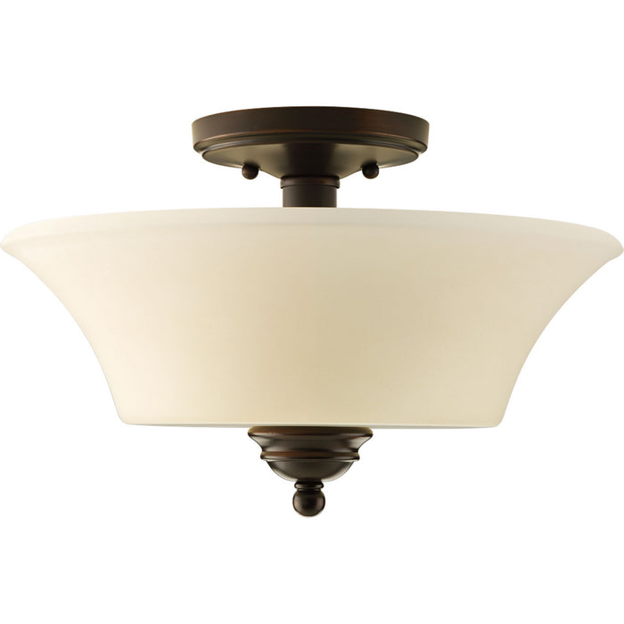 "Applause Collection Two-Light 14"" Flush Mount"