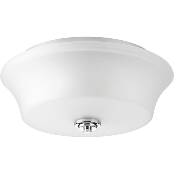 "Cascadia Collection Two-Light 14"" Flush Mount"