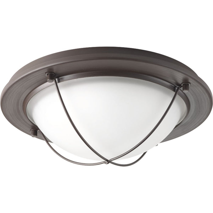 "Portal Collection One-Light 11"" LED Flush Mount"