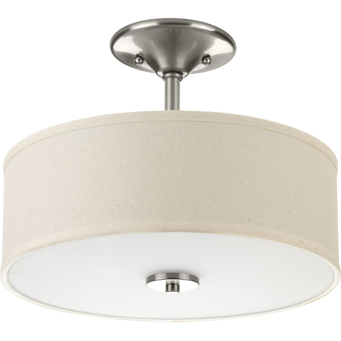"Inspire Collection One-Light 13"" LED Semi-Flush Mount"