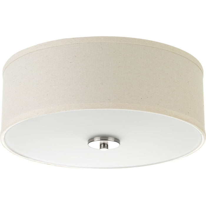 "Inspire Collection Two-Light 13"" Flush Mount"