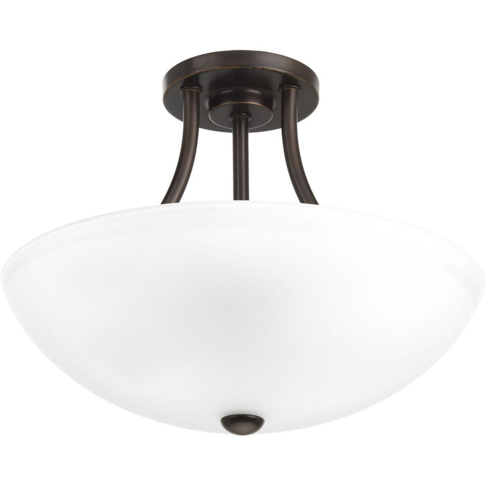 "Gather Collection Two-Light 12-7/8"" Semi-Flush Convertible"