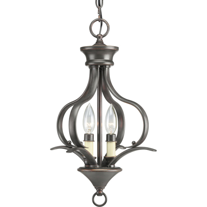 Trinity Collection Two-Light Foyer Pendant