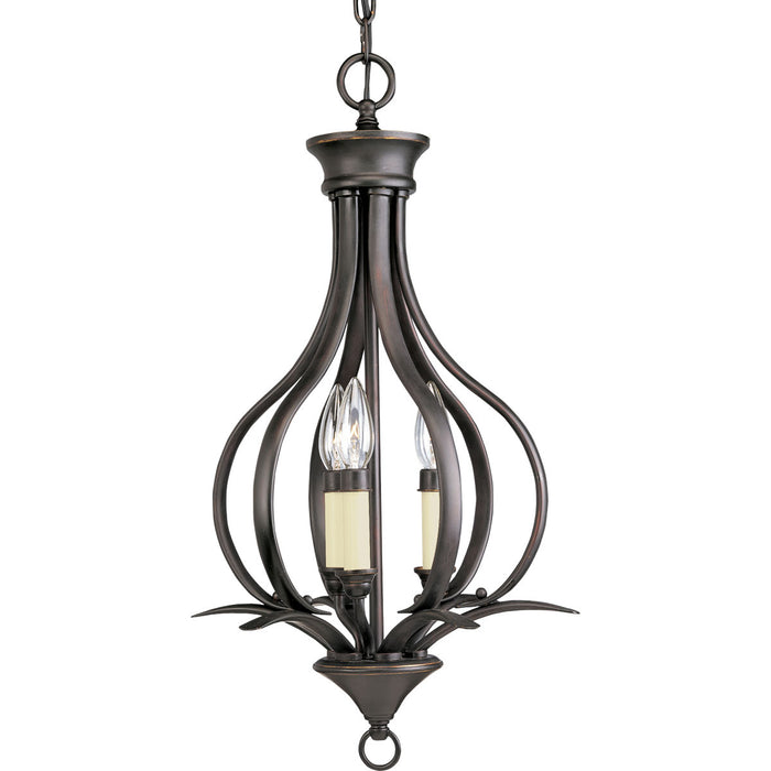 Trinity Collection Three-Light Foyer Pendant