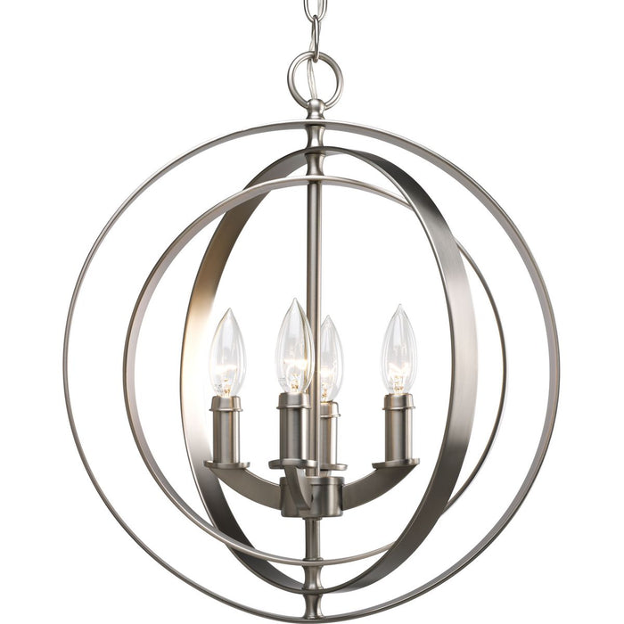 Equinox Collection Four-Light Foyer Pendant