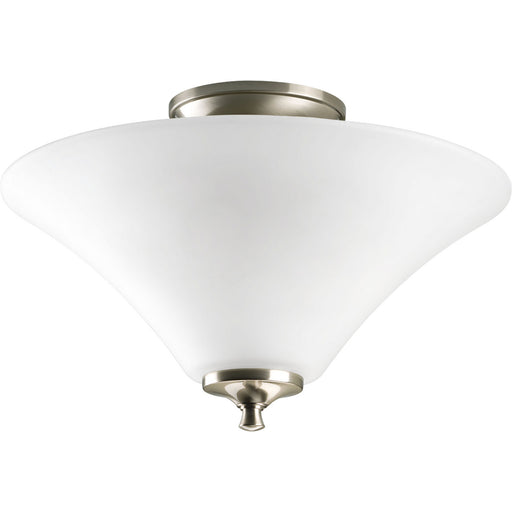 "Joy Collection Two-Light 13-1/4"" Semi Flush"