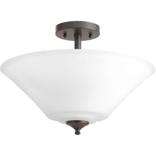 "Joy Collection Three-Light 16-5/8"" Semi-Flush Convertible"