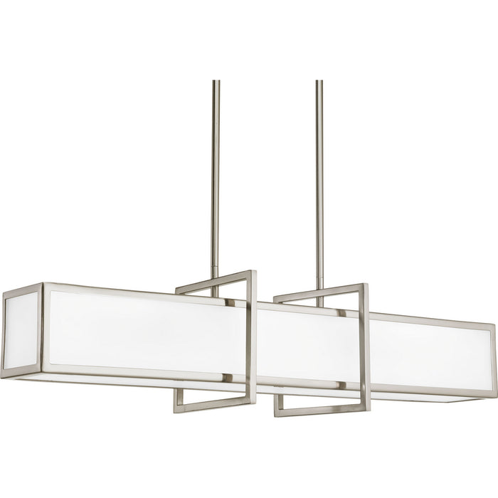 Haven Collection Four-Light Linear Pendant