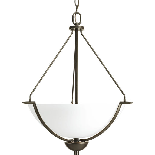 Bravo Collection Three-Light Inverted Pendant