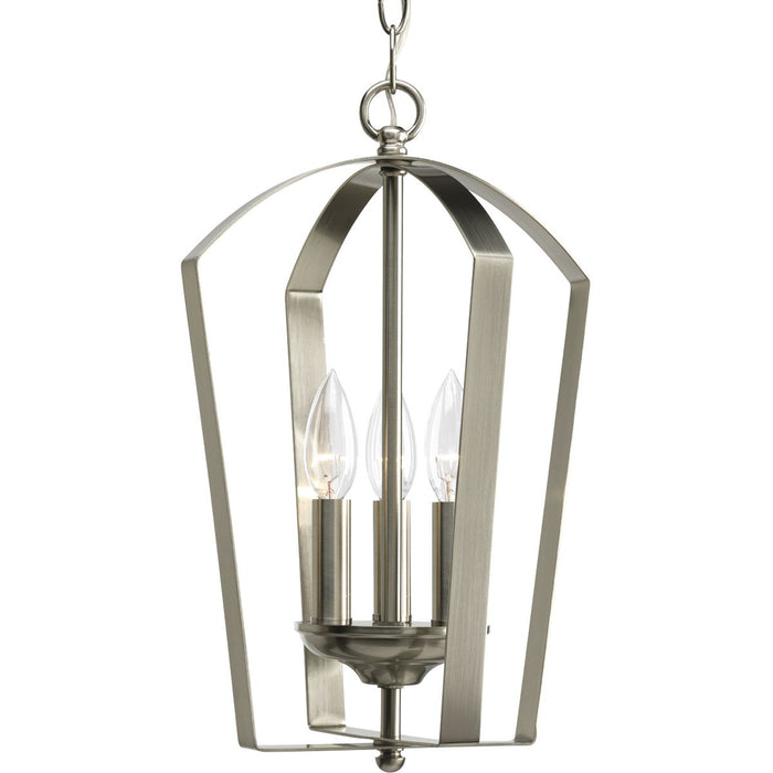 Gather Collection Three-Light Foyer Pendant