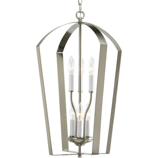 Gather Collection Six-Light Foyer Pendant