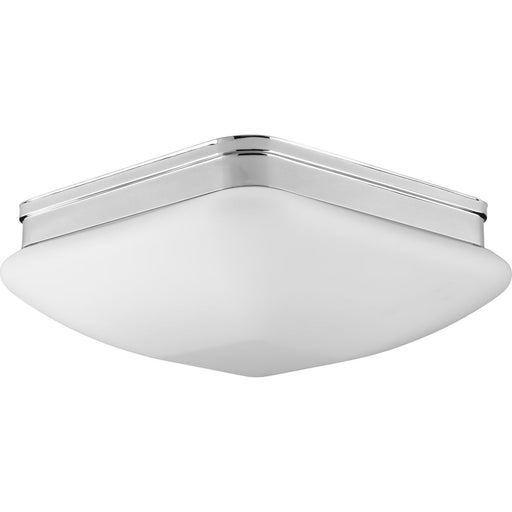 "Appeal Collection Three-Light 13"" Flush Mount"
