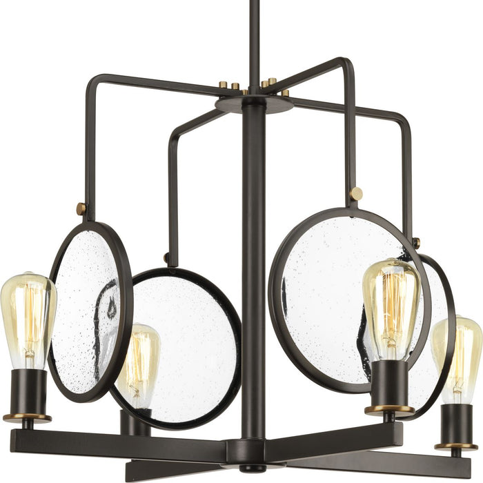 Looking Glass Collection Four-Light Chandelier