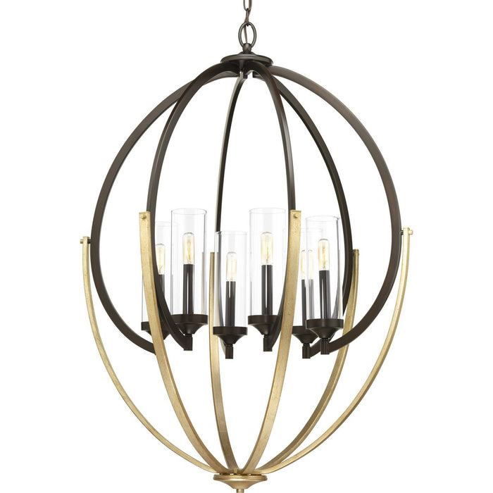 Evoke Collection Six-Light Chandelier