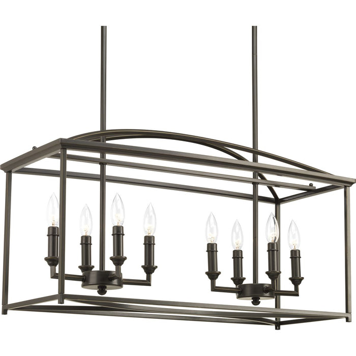 Piedmont Collection Eight-Light Chandelier