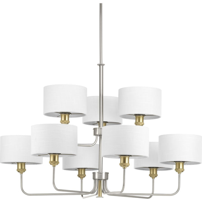 Cordin Collection Nine-Light Chandelier