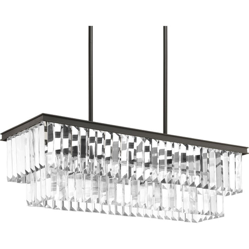 Glimmer Four-Light Linear Chandelier