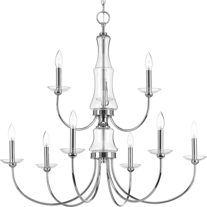 Litchfield Collection Nine-Light Chandelier