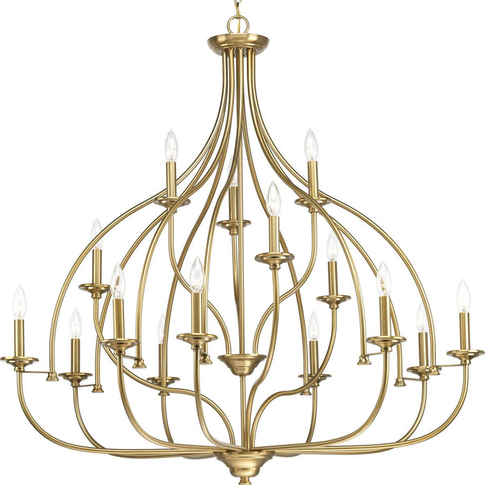Tinsley Collection Fifteen-Light Chandelier