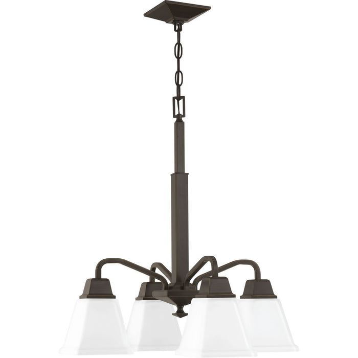 Clifton Heights Collection Four-Light Chandelier