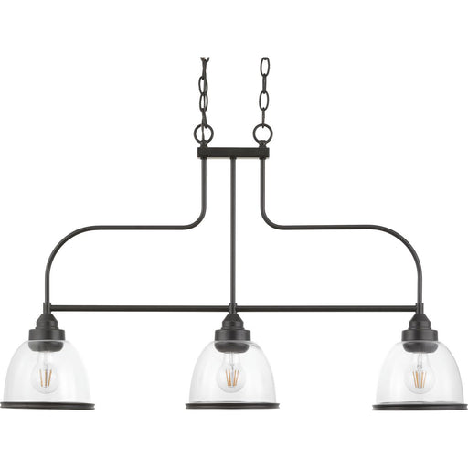 Saluda Collection Three-Light Island Chandelier