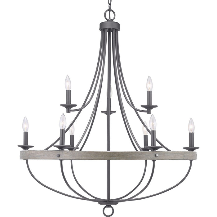Gulliver Collection Nine-Light Chandelier