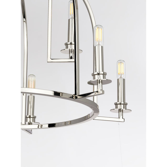 Seneca Collection Nine-Light Chandelier