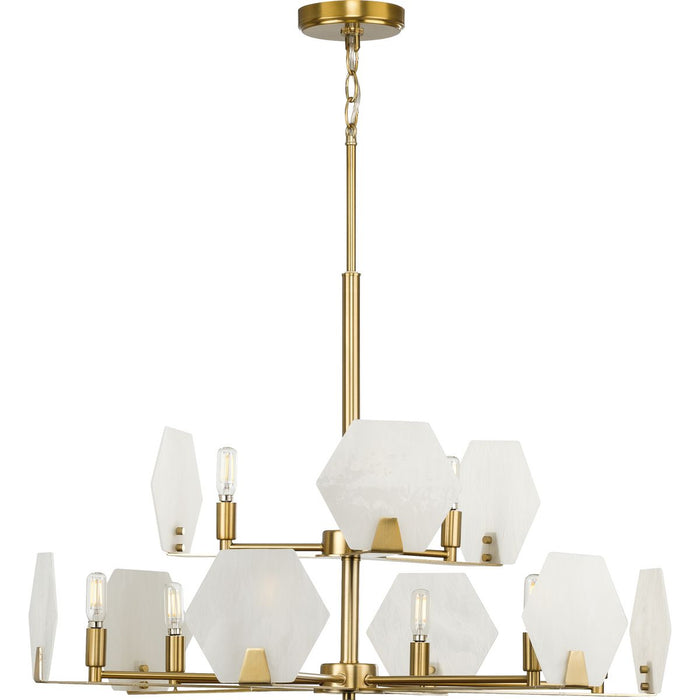 Rae Collection Nine-Light Chandelier